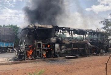 Burkina Faso: Un car de la compagnie Élitis s'enflamme en cours de route