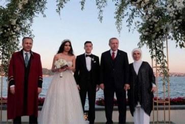 Le président Turc, Erdogan témoin de mariage de Mesut Özil