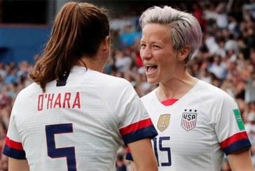 Mondial féminin 2019: les Américaines brisent le rêve des Bleues