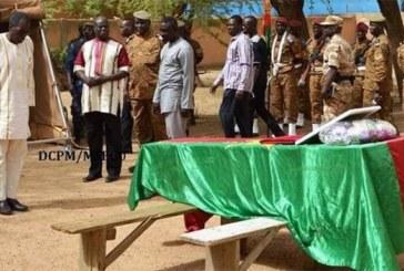 Embuscade entre Gorgadji et Arbinda : Les deux gendarmes tombés reposent au cimetière militaire.