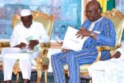 Situation politique en Guinée : un envoyé spécial du président Alpha Condé chez le président du Faso