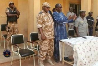 Le Ministre de la Securité au contact des troupes à Bobo-Dioulasso