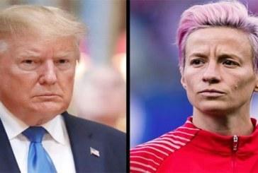 Mondial féminin de football: Trump clashe la capitaine de l'équipe nationale