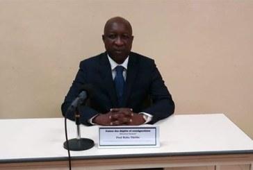 Burkina Faso : l'ex Premier ministre Paul Kaba Thiéba a prêté serment en qualité de directeur général de la Caisse des dépôts et des consignations