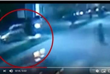 La vidéo de l'accident de Dj Arafat filmée par les cameras de surveillance (vidéo)
