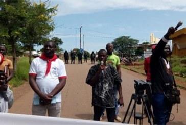 Marche meeting du 16 septembre à Gaoua: La police contraint les manifestants de rebrousser chemin