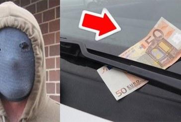 La police met en garde les personnes qui trouvent un billet de 50 euros sur le pare-brise