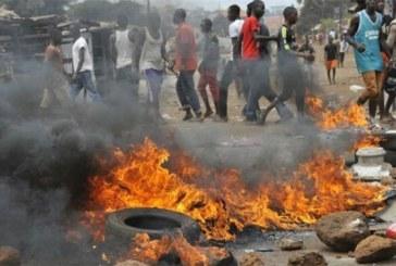 Guinée : Le projet de modification de la Constitution de Alpha Condé fait ses premières  victimes, 2 morts et plus de 10 blessés