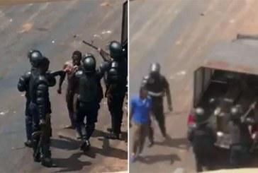 Guinée : des policiers guinéens filmés à leur insu en pleine scène d'humiliation