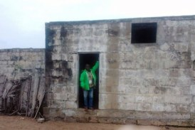Grand-Lahou : La prison coloniale de Lahou-Kpanda emportée par la mer