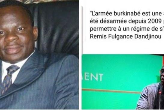 «L'armée burkinabé est une armée qui a été désarmée en 2009 pour permettre au régime de s'asseoir»: Me Paul Paul Kéré répond au ministre Rémi Dandjinou