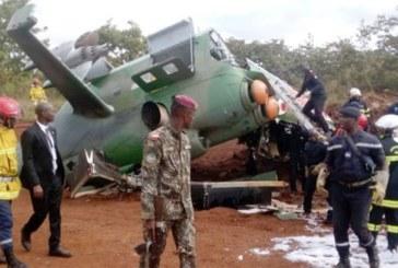 Côte d'Ivoire: Un hélicoptère Mi24 de l'armée s'écrase à Katiola en Côte-d'Ivoire durant la visite présidentielle, quatre blessés
