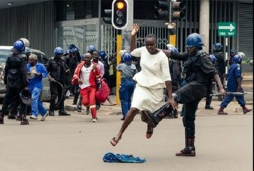 Zimbabwe/répression d'une manifestation de l'opposition: un bébé de 10 mois détenu à un poste de police