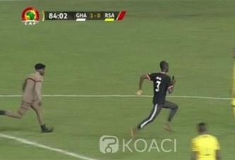Ghana : Elim. CAN 2021, aveux de l'intrus qui s'est illustré lors du match Ghana-Afrique du Sud