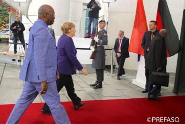 Séance de travail entre le président du Faso et la Chancelière allemande: La coopération bilatérale passée en revue