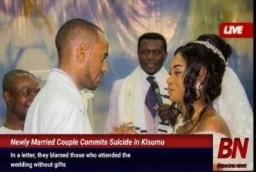 Des nouveaux mariés se suicident 4 jours après leur mariage