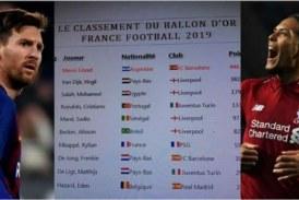 Fuite ou fake ? Les supposés résultats du Ballon d'Or révélés: Messi 1er, Ronaldo 4ème, SadioMané 5ème