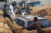 Congo: Brazzaville défigurée par les éboulements et les ensablements