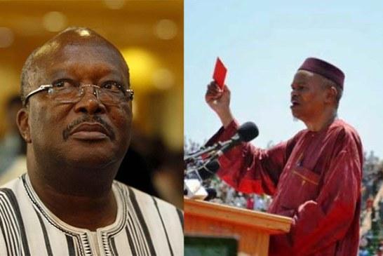 Burkina Faso: Le président Roch Marc Kaboré quémande le carton rouge de Hama Arba Diallo