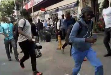 Marche « Nio Lank » : les journalistes pris pour cible par la Police