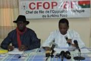 Situation sécuritaire au Burkina Faso: Le MPP est pleinement responsable par un mauvais diagnostic de la situation et une mauvaise gestion  (Opposition)
