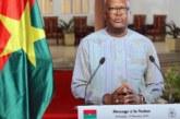 59eme anniversaire de l'indépendance du Burkina Faso: Le Président Kaboré renouvelle son appel à une trêve sociale et à une union sacrée pour vaincre le terrorisme