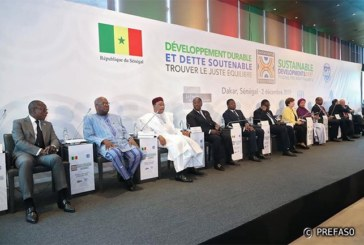 Financement des projets de développement : le président du Faso appelle les partenaires à sortir des sentiers battus.