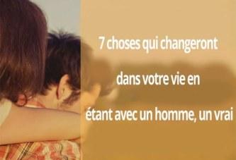 7 choses qui changent lorsque vous êtes en couple avec un vrai homme