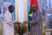 Burkina Faso : Le document de Politique de Sécurité nationale remis au président du Faso.