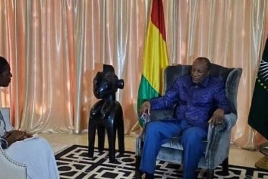 Entretien avec Alpha Conde sur la crise en libye, au Sahel et en Guinée