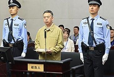 Chine: l'ex-président d'Interpol condamné à 13 ans de prison pour corruption