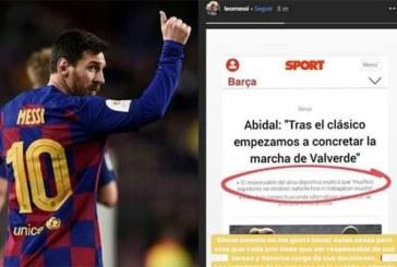 Ça chauffe entre Messi et Abidal !