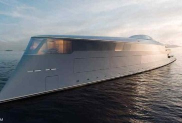 Bill Gates s'offre un super yacht futuriste à 645 millions de dollars