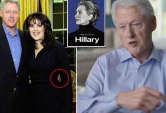 Bill Clinton explique que ses relations sexuelles avec Monica Lewinsky l'aidaient à gérer l'anxiété