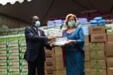 Dominique Ouattara en guerre contre le Covid-19: Du matériel offert