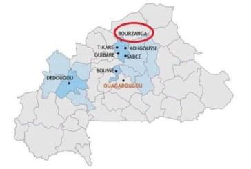 Burkina Faso: 2 militaires portés disparus et 4 personnes blessés dans une attaque à Bourzanga