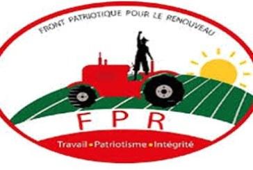 Burkina Faso: Declaration du front patriotique pour le renouveau (FPR) sur la situation nationale