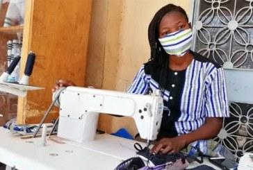 Covid-19: Des masques en Fasodanfani pour stopper la pandémie