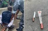 Un pompiste à la SOTRA tente de taillader sa sœur aînée à la machette