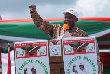 Burundi : Évariste Ndayishimiye, le candidat du pouvoir, élu président
