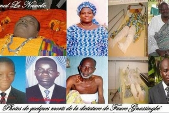 Togo : Pays des crimes impunis