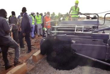 Autoroute de contournement de Ouagadougou : le Premier ministre satisfait de l'avancement des travaux