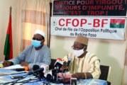Terrorisme au Burkina Faso: «Le MPP est un frein à la victoire du Burkina Faso contre ses ennemis» ( Opposition)