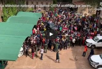 Mali:La télévision nationale ORTM assiégée par les manifestants du M5-RFP de Mahmoud Dicko