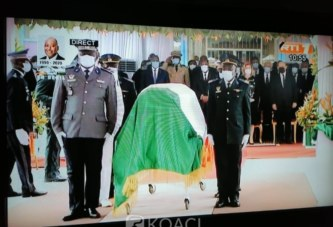 Côte d'Ivoire : Hommage national à Gon, Dagri Diabaté aux ivoiriens et aux politiques : «La paix dans laquelle nous vivons doit être considérée comme un bien commun à préserver »