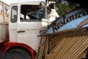 Boulevard du cinquantenaire : Un accident qui fait plus de peur que de mal