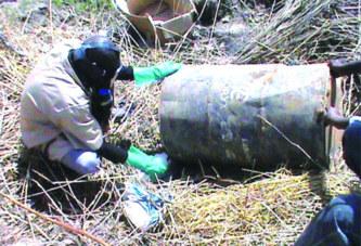 Secteur n°35 de Ouagadougou:  Un liquide toxique découvert à Nabitenga