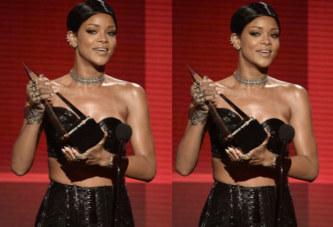 Rihanna obtient le premier Icon Awards des A.M.A