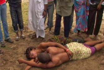 Photo: Un couple surpris tôt le matin entrain de dormir dans la voie public, après avoir… Regardez