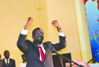 Congrès ordinaire de l'UNIR/PS:  Me Bénéwendé Sankara rempile pour 4 ans